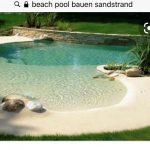 Beach Pool Bau
